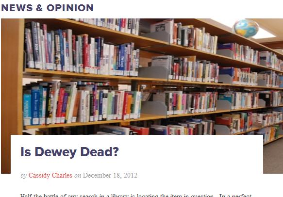 Is Dewey Dead?
